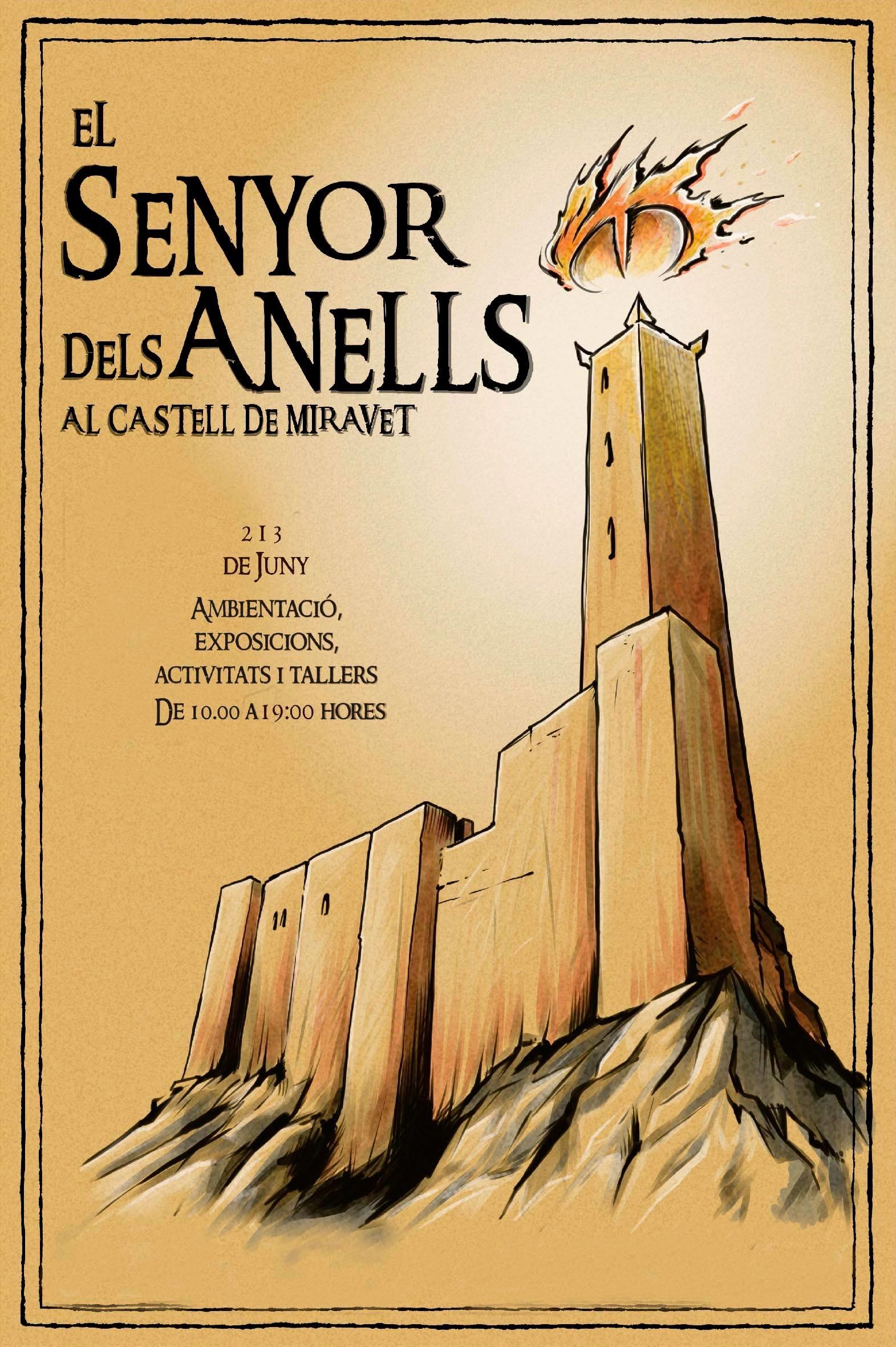 43aa96a19f2a Segundas jornadas de  El Señor de los Anillos  en el Castillo de ...