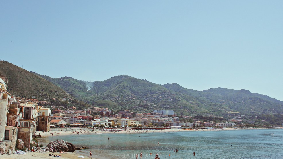 Cefalu playas de Sicilia