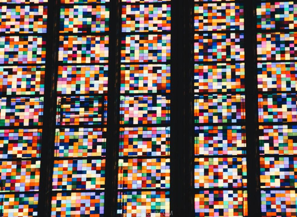 catedral de colonia vitrales