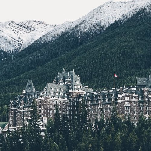 Alojamiento en Banff