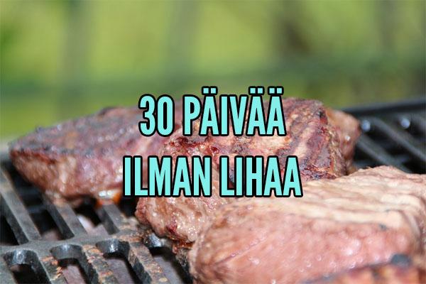 30 päivää ilman lihaa