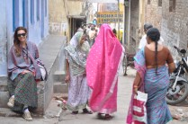 Pelas ruas de Varanasi