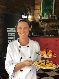 A chef Christine Bonnell