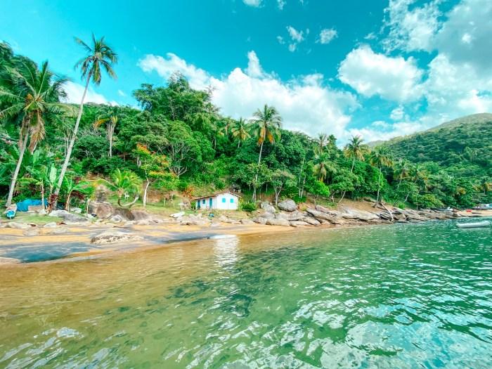 Praia da Fome, na IlhaBela