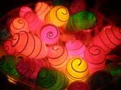 Los capullitos de colores.