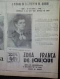 Las instituciones y empresas de la ciudad de Iquique se unen a la conmemoración de las Glorias Navales. Un aviso de ZOFRI por las fechas (Foto: Hemeroteca M.R.I.)
