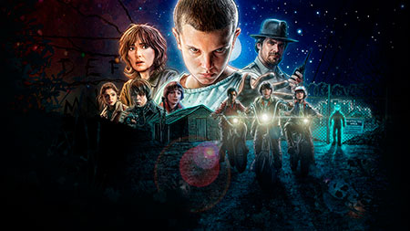 Stranger Things - Stranger Things, 1ª temporada de la serie ochentera