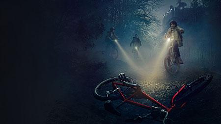 stranger things bikes - Stranger Things, 1ª temporada de la serie ochentera
