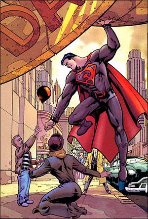 1204599 redson - SUPERMAN : Hijo Rojo, un enfoque ucrónico
