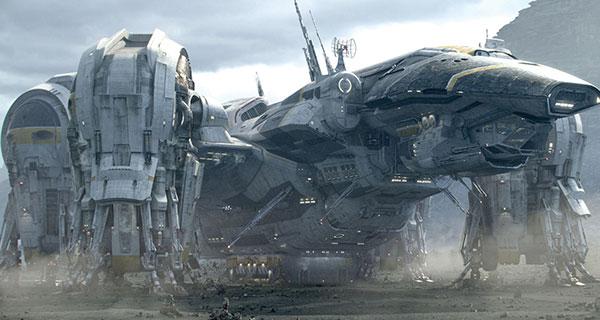 PROMETHEUS - 12 naves icónicas de la Ciencia Ficción, I