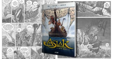 ASLAK PORT - Aslak : El Mundo de la Nada. Una divertida epopeya vikinga