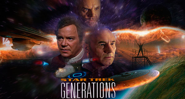 GENERATIONS - Star Trek: TNG, las películas