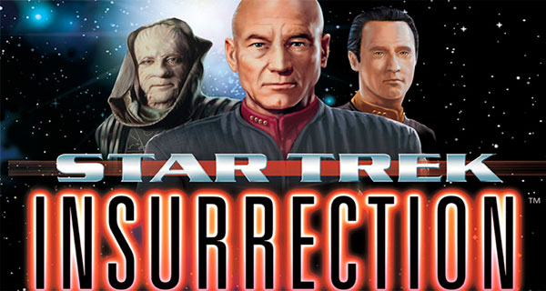 INSURRECTION - Star Trek: TNG, las películas