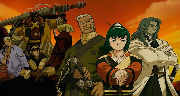 sam7 - Samurái 7, el clásico de Kurosawa como anime futurista