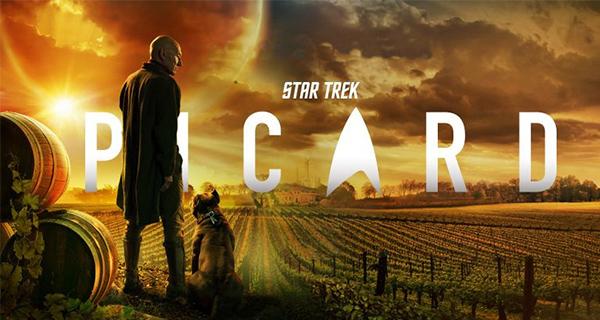 PICARD PORTADA - Star Trek: Picard T1. Un crepuscular canto a la vida.
