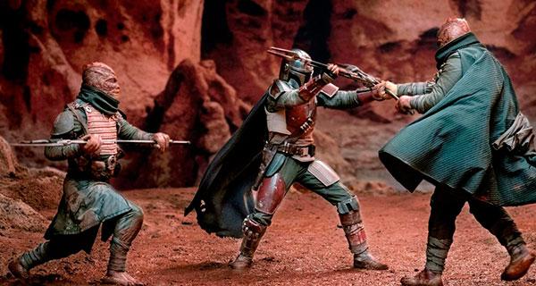 MAN TRAND - The Mandalorian, T1: Vuelve el western a Star Wars