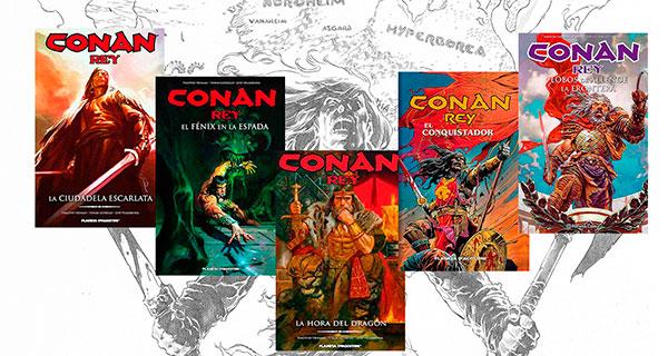 CONAN REY POST OK - Conan Rey, Integral. de Truman y Giorello