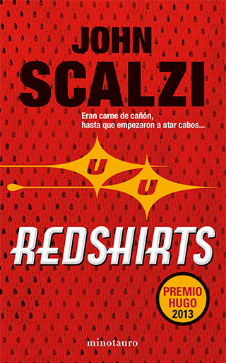 RED SHIRT PORTADA - Redshirts, John Scalzi: Humor trekie
