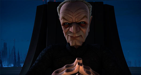PALPATINE1 - Star Wars, Clone Wars: Villanos del lado Oscuro