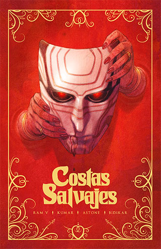 COSTAS SALVAJES PORTADA - Costas Salvajes, vampiros en la India colonial