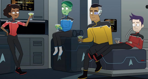ST1 - Star Trek: Lower Decks. La serie que hacía falta