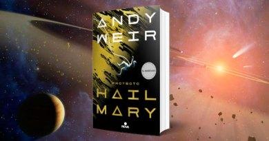 HAIL PORTADA - Proyecto Hail Mary, Andy Weir lo ha vuelto a lograr