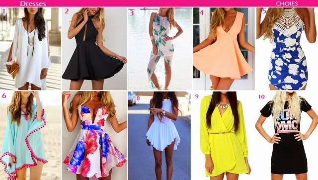 DRESSES CHOIES