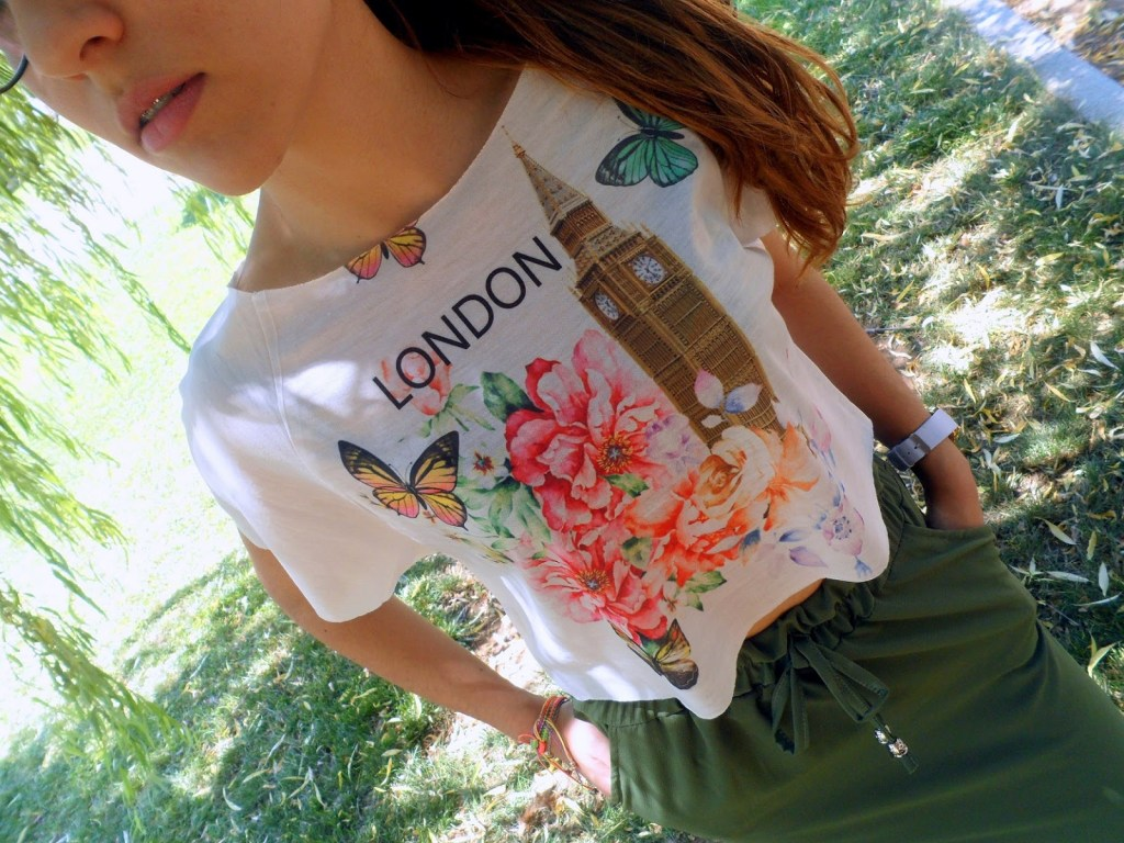 MAXI FALDA & CAMISETA LONDON
