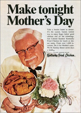 1968. kentucky-fried-chicken-mothers-day