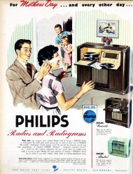 Phillips Radiograms and Radios. Mother's Day