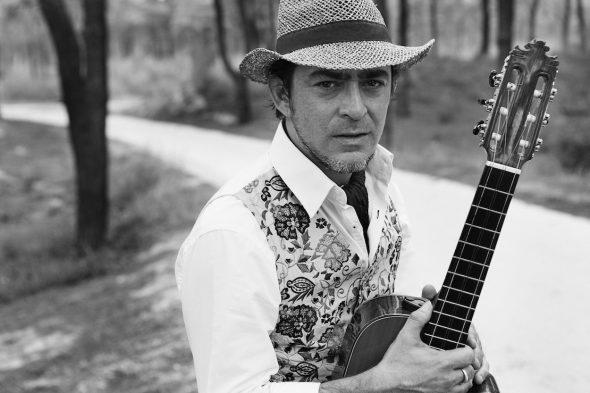 El músico Raúl Rodríguez.