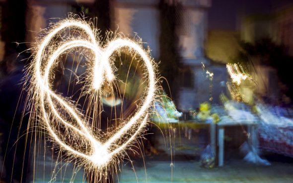 Corazón de Navidad. Foto: Eneas de Troya / Flickr Creative Commons