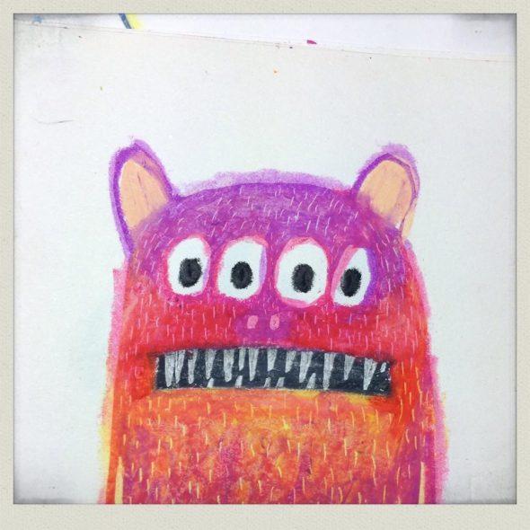 El simpatiquísimo monstruo de cuatro ojos de
