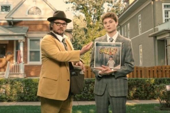 Jeff Tweedy y su hijo.
