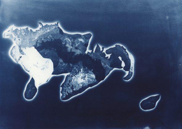 """Una de las imágenes del proyecto """"Islas Utópicas"""" de Clara Sánchez Sala."""