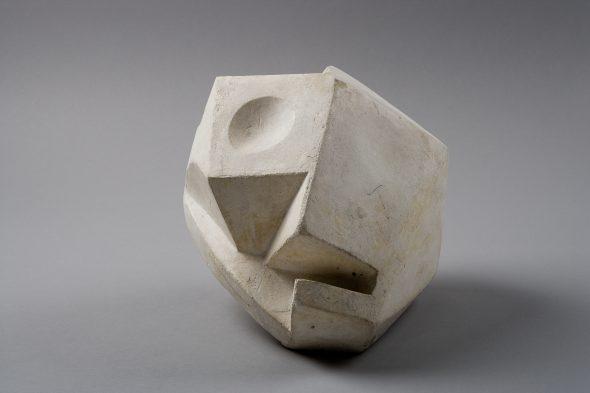 Alberto Giacometti. Cabeza-Cráneo. 1934. Yeso