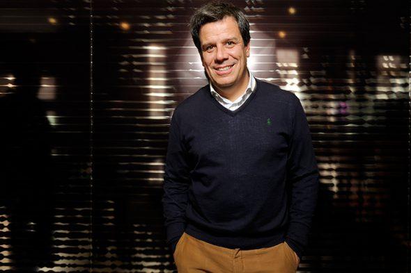 El neurólogo Facundo Manes, autor del libro 'Usar el cerebro'. Foto: Roberto Villalón.