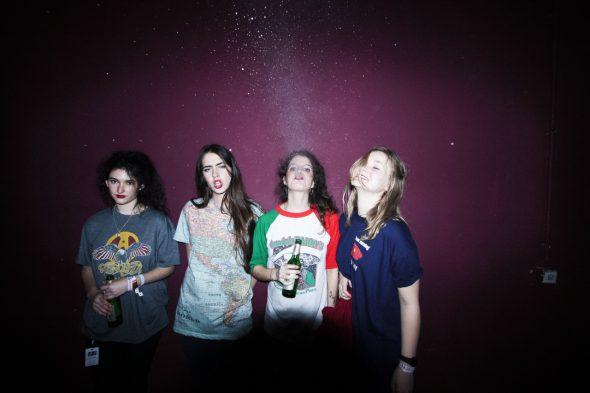 El grupo madrileño Hinds. Foto: Hache.