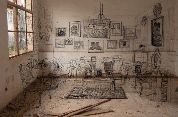 'Estratos de lo doméstico', obra de Mar Hernández.