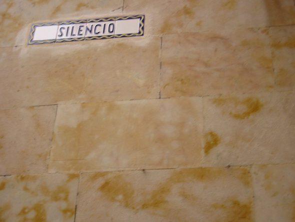 'Silencio'. Fotografía de Óscar Antón.