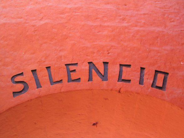 'Silencio'. Fotografía de Phil Whitehouse.