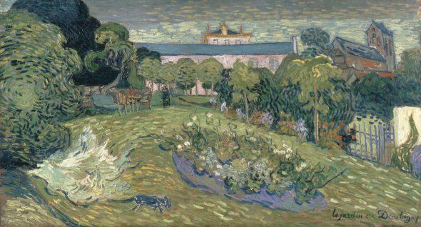 Vincent van Gogh (1853–1890); Le jardin de Daubigny; Juli 1890. Colección Rudolph Staechelin. Kunstmuseum Basel.