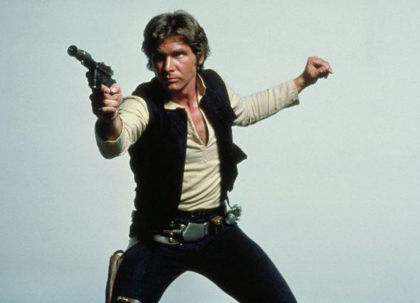 El actor Harrison Ford caracterizado como Han Solo. Foto: Starwars.com