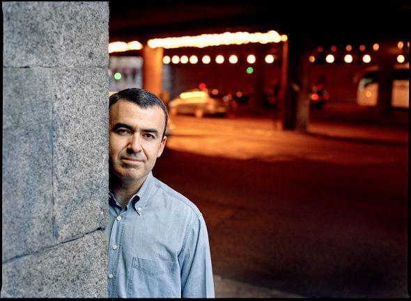 El escritor Lorenzo Silva. Foto: Joan Tomás.