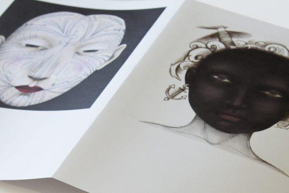 Ilustraciones de Ana Juan para el proyecto 'Mi querida Babel'.