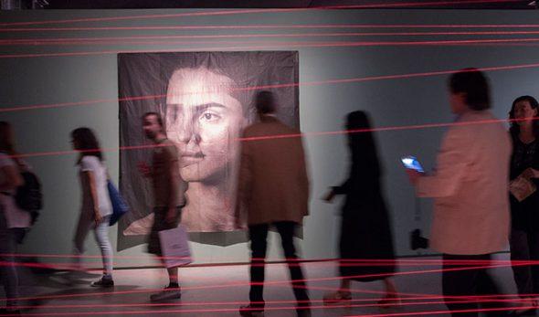 Aspecto de la exposición de Luis González Palma.