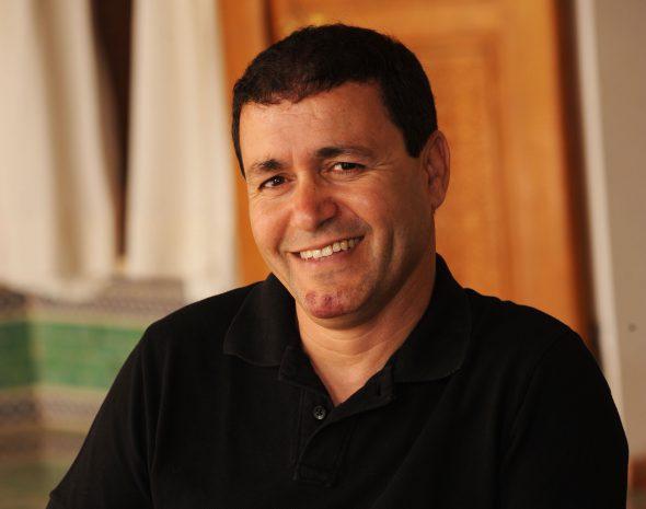 Brahim El Mazned, gestor cultural marroquí.