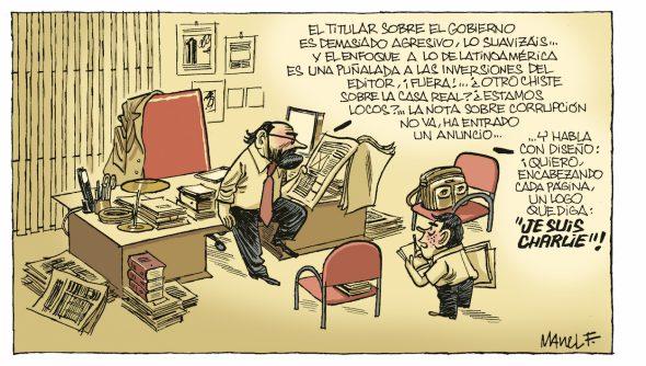 Tira de Manuel Fontdevila