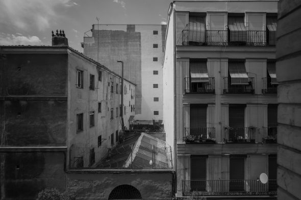 'Casa sin fin', de Manolo Laguillo en la feria Estampa.