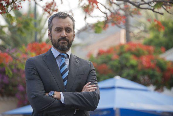 El abogado experto en incentivos fiscales al cine Jamie Sanz. Foto: Luis Roca Arencibia.